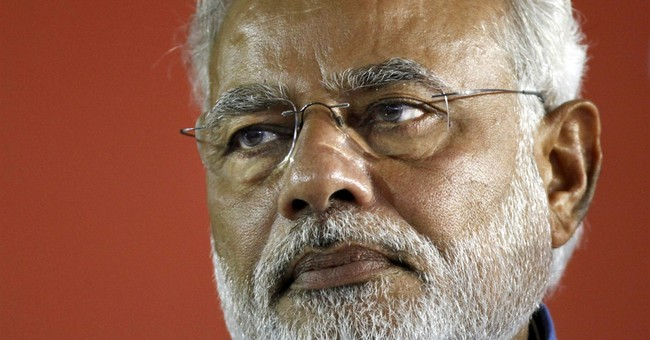 7 charged with defaming India's new prime minister