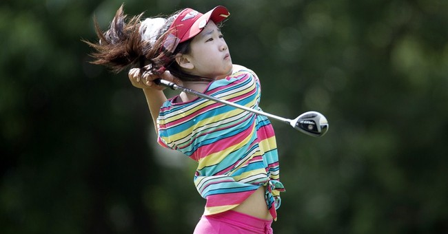 From early childhood, golf was focus for Lucy Li