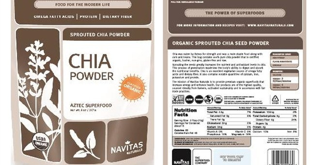Chia powder linked to salmonella illnesses
