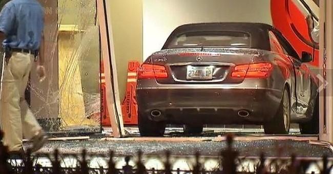 Car crashes into CNN Center in downtown Atlanta
