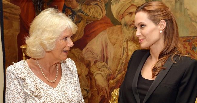 Angelina Jolie honored by Queen Elizabeth II