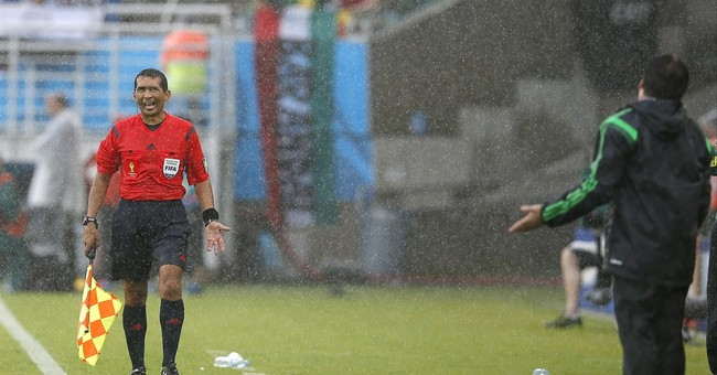 Cup referees fail in task to stay in background
