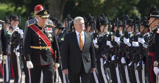 German president: don't always rule out military