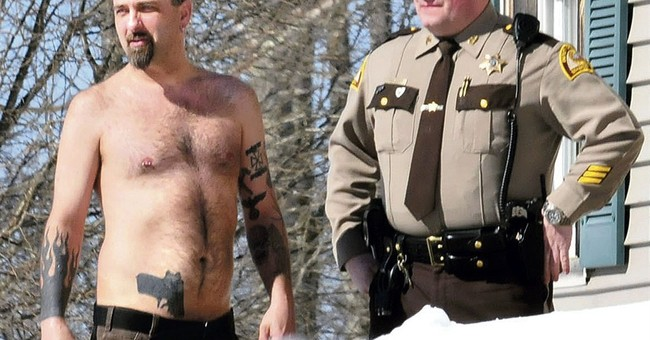 Cop: Man with gun tattoo had real gun in waistband