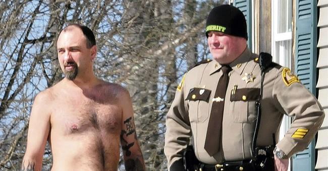 Cop: Man with gun tattoo had real gun in waistband