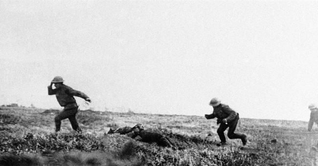 AP PHOTOS: A photographic look back at World War I