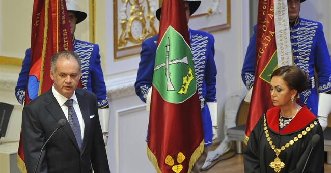 Andrej Kiska inaugurated as Slovakia's president