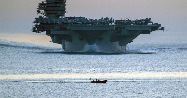 Ships move into Gulf as US lays out goals for Iraq