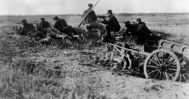 AP PHOTOS: A photographic look back at World War I