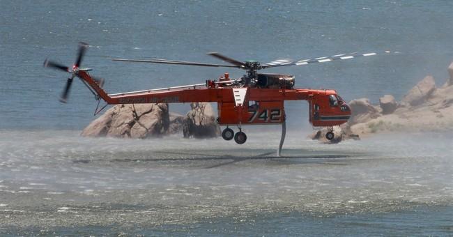 California wildfire evacuations lifted