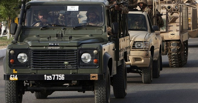 Pakistan steps up offensive in tribal area