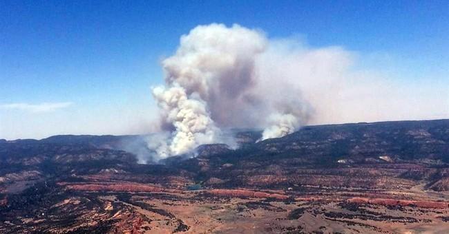 Wildfire rages as Navajo communities evacuate