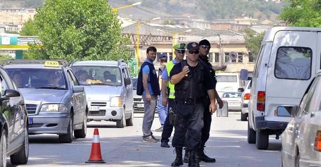 Albanian police storm lawless marijuana village