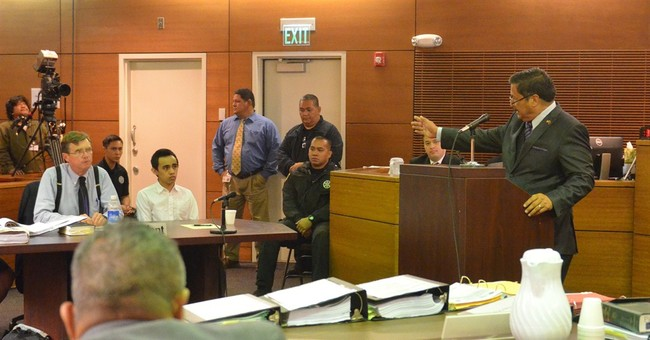 Guam crash-stabbing rampage trial opens