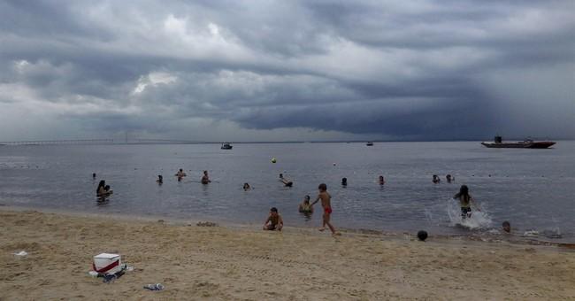 BRAZIL BEAT: Piranhas? No problem at Manaus beach