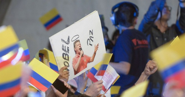 Pressure on Santos to reach peace for Colombia