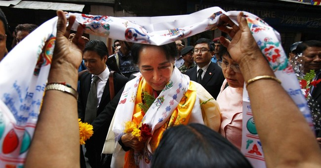 Suu Kyi: Becoming president is up to the people