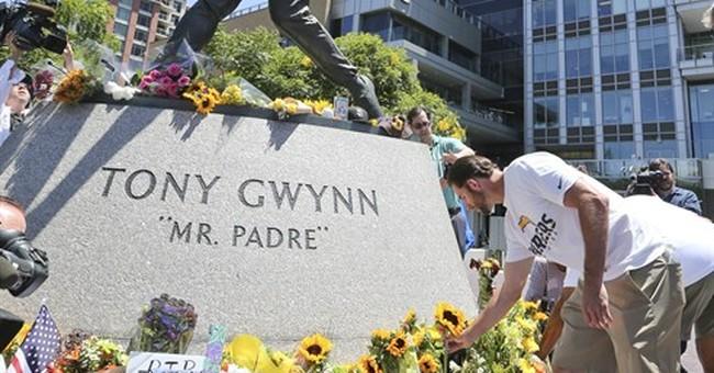Tony Gwynn, sweet-swinging 'Mr. Padre,' dies at 54