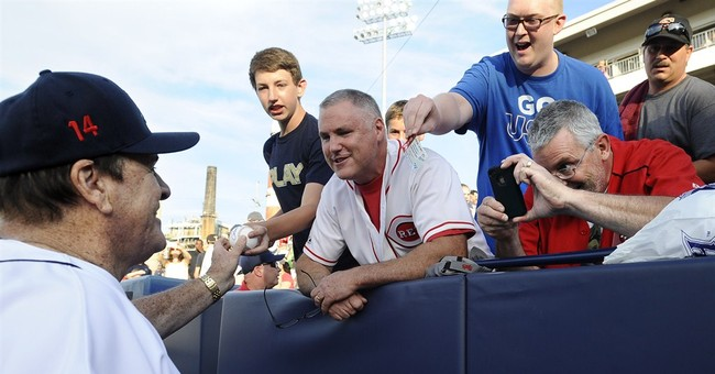Pete Rose manages team, 1st time in 25 years