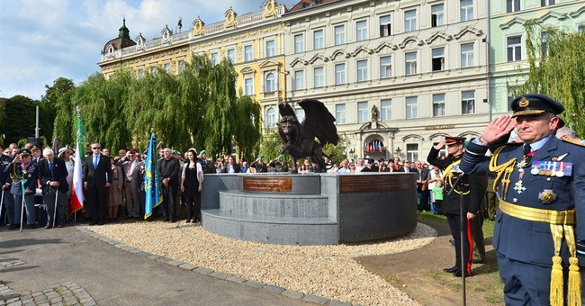 Britons honor Czechoslovaks who fought for RAF