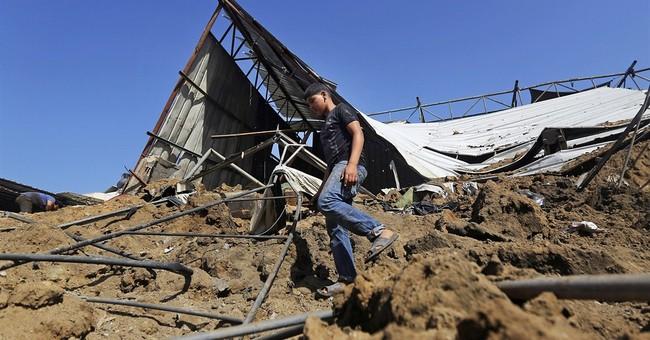 Israel leader seeks world pressure on Palestinians