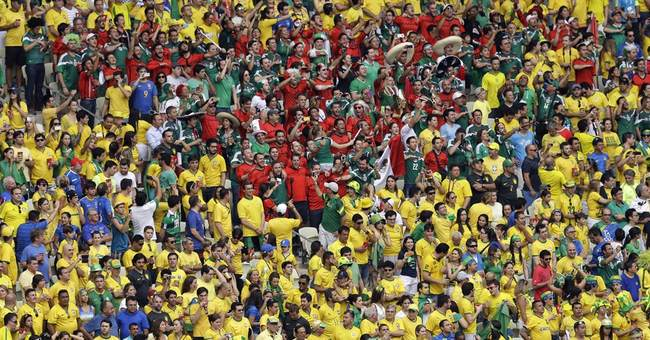Brazil beefs up security at World Cup stadium