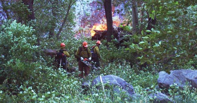 Better weather ahead for Navajo Nation wildfire
