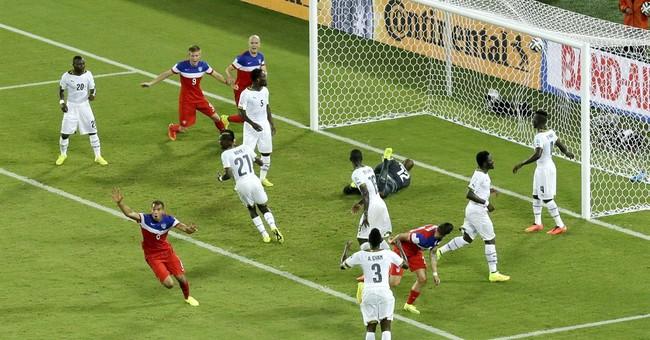 Brooks' goal happened just like in a dream