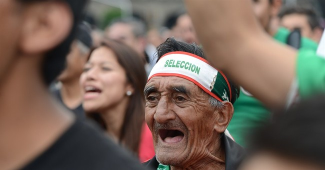 Tie with Brazil boosts soccer hopes of Mexico fans