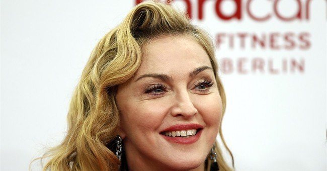 Madonna attends preview of Tupac B'way musical