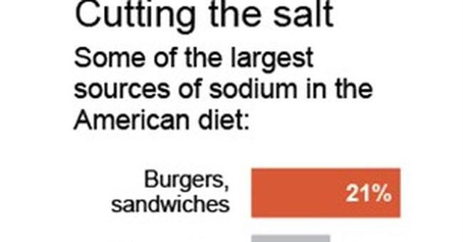 FDA prepping long-awaited plan to reduce salt