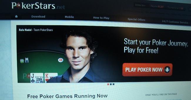 APNewsBreak: Licensing talks for PokerStars buyer