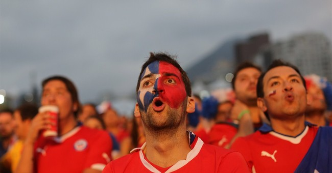 Latin Americans cheering for each other _ for now