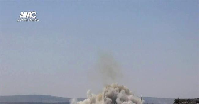 Activists: Syrian strikes target refugees, kill 7