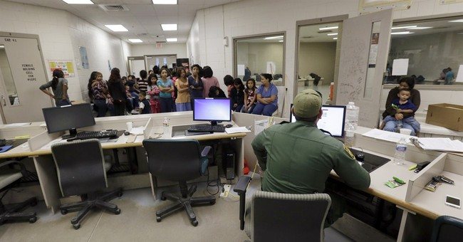 AP PHOTOS: A look at child immigrant holding cells