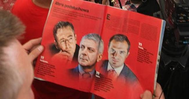 Polish authorities try to seize magazine's files