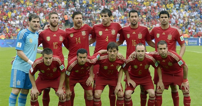 Spain's World Cup reign ended by 2-0 loss to Chile