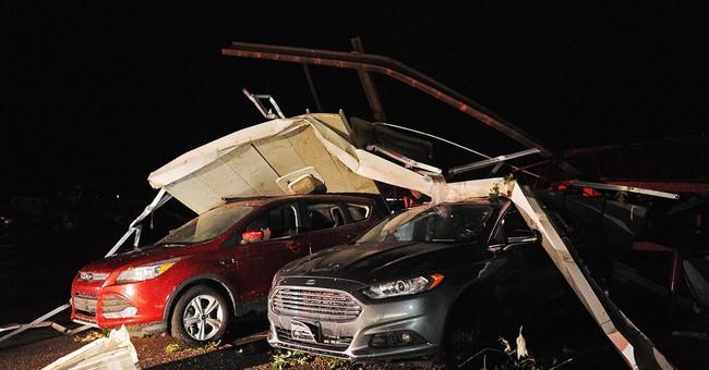 Tornado strikes SD town, razing homes; only 2 hurt