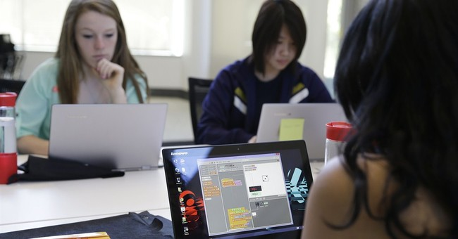 New push to get girls into computer sciences
