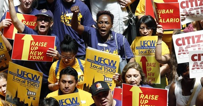 Minimum wage debate pits cities against states