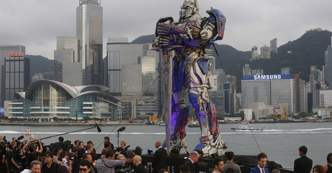 Hollywood stars in HK for 'Transformers' premiere