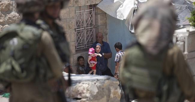 Palestinians, Israeli troops clash in teens search