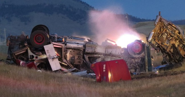 Family, fire chief killed in fiery Montana crash