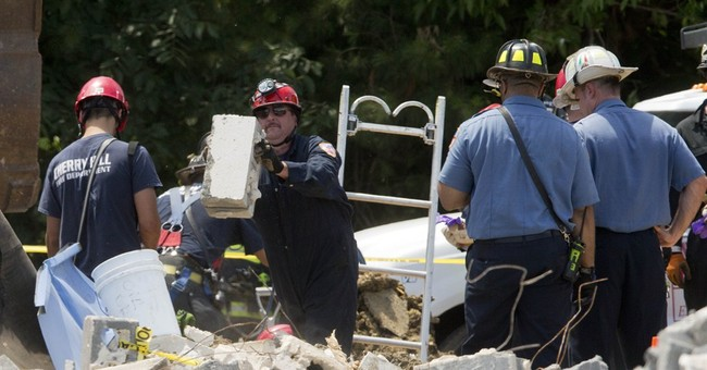 New Jersey building collapse kills 1 worker; 2 OK