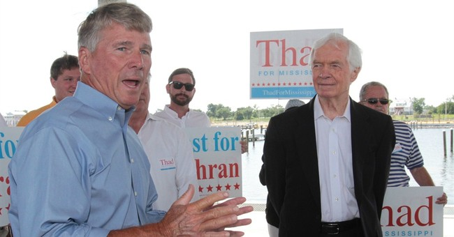 Mississippi's Cochran faces rival 34 years younger