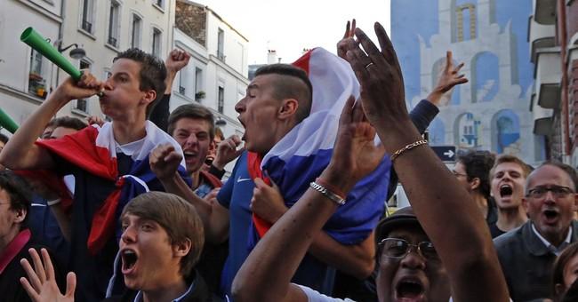 France draws highest TV ratings since 2006 final