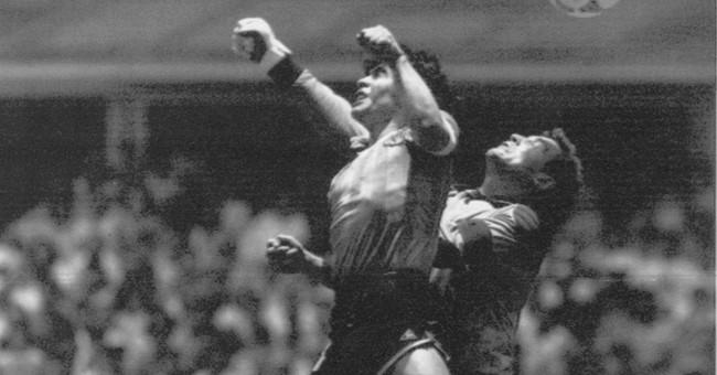 ON THIS DAY: Maradona's 'Hand of God' vs England