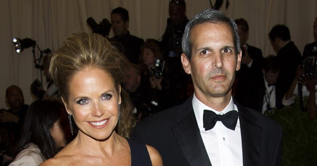 Katie Couric marries financier in Hamptons