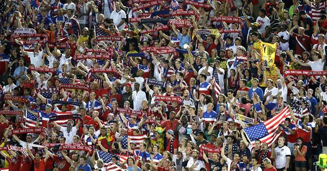 US fans showing up in force in Brazil