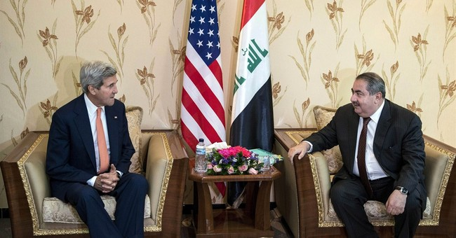 Kerry hands dire warning to Iraqis over future